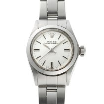 Rolex Oyster Perpetual 26 Steel 25mm Silver No numerals