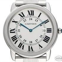 Cartier Ronde Solo de Cartier Stahl 36mm Silber Deutschland, Stuttgart