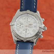 Breitling Crosswind Racing Steel 43mm White