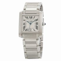 Cartier Tank Française Steel 28mm White United States of America, Florida, Miami