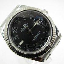 Rolex Datejust II Steel 41mm Silver No numerals Malaysia