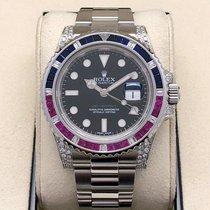 Rolex GMT-Master II Steel 40mm Black No numerals