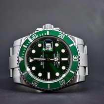 Rolex Submariner Date Steel 40mm Green No numerals Finland, Oulu