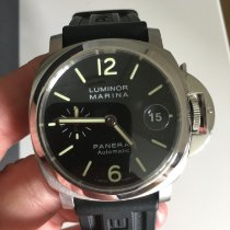 Panerai Luminor Marina Automatic Steel 40mm Black Arabic numerals