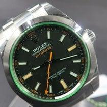 Rolex Milgauss Steel 40mm Black No numerals Malaysia, Malaysia