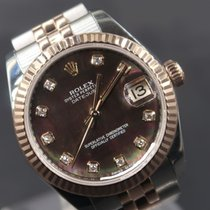 Rolex Lady-Datejust 178271 Very good Gold/Steel 31mm Automatic