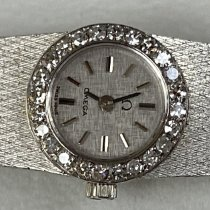 Omega Omega Lady Vintage - White Gold with Diamonds Неношеные Белое золото 14mm Механические