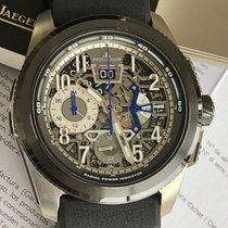 Jaeger-LeCoultre Steel Automatic Arabic numerals 46.8mm new Master Compressor Extreme LAB 2 Tribute to Geophysic