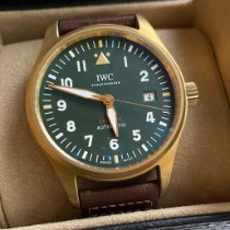 IWC Pilot Bronze 39mm Green
