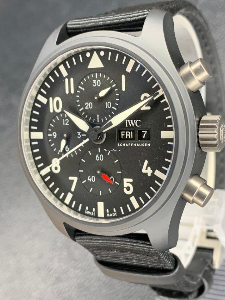 IWC Pilot Chronograph Top Gun IW389101 2021 new