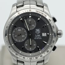 TAG Heuer Link Calibre 16 Steel 42mm Grey No numerals United States of America, Nevada, Las Vegas
