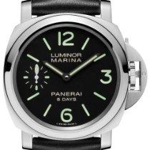 Panerai Luminor Marina 8 Days nieuw 2018 Handopwind Horloge met originele doos en originele papieren PAM 00510