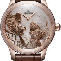 Jaquet-Droz Les Ateliers D' Art J005023270 Unworn Rose gold 41mm Automatic