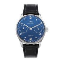 IWC Portuguese Automatic Steel 42.3mm Blue Arabic numerals United States of America, Pennsylvania, Bala Cynwyd