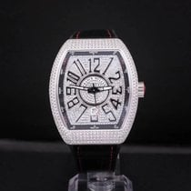 Franck Muller Steel Automatic Silver Arabic numerals 44mm new Vanguard