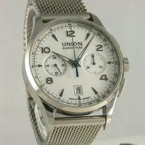 Union Glashütte Noramis Chronograph Steel 41mm White