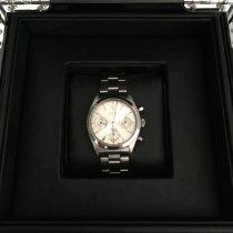 Rolex Chronograph Acero 36mm Plata Sin cifras