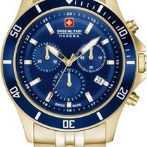 Swiss Military Hanowa Flagship Steel 42mm Blue