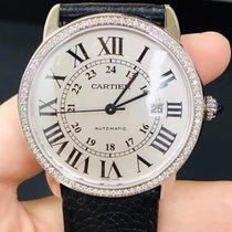 Cartier Ronde Solo de Cartier Steel 42mm White No numerals