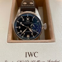 IWC Große Fliegeruhr Stahl 45mm Schwarz Arabisch Deutschland, Warstein