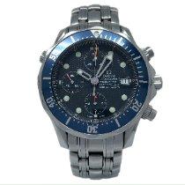 Omega Seamaster Diver 300 M Steel 41.5mm Blue No numerals