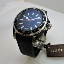 Gucci Stål 40mm Kvarts YA136303 ny