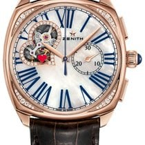 Zenith Star Or rose 37mm Nacre Romains