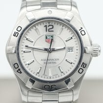 TAG Heuer Aquaracer Lady pre-owned 27mm Silver Date Steel