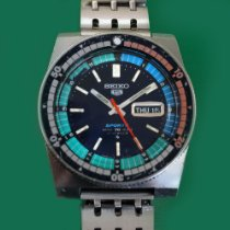 Seiko 5 Sports pre-owned Steel