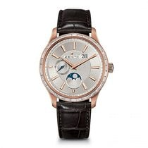 Zenith 22.2141.691/01.c498 Oro rosa 2020 Captain Moonphase 40mm nuevo