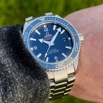 Omega Seamaster Planet Ocean Titanium 45.5mm Blue Arabic numerals United States of America, Wisconsin, Jefferson