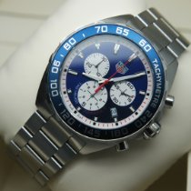 TAG Heuer pre-owned Automatic 43mm Blue Sapphire crystal 20 ATM