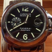 Panerai Luminor Marina Automatic Acier Noir Arabes
