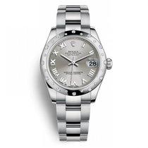 Rolex Lady-Datejust Zeljezo 31mm Siv Rimski brojevi