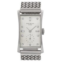 Patek Philippe Hour Glass Platinum 22mm Silver No numerals United States of America, Florida, Surfside