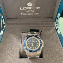 Lorenz Acier 43mm Remontage automatique 030036AA nouveau