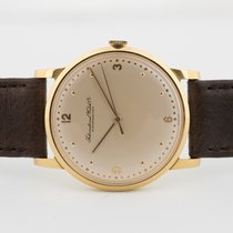 IWC Or jaune 34mm Remontage manuel occasion