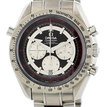 Omega Speedmaster Broad Arrow Steel 44mm Black United States of America, New York, New York