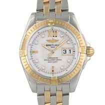 Breitling Galactic Steel 41mm Mother of pearl United States of America, New York, New York