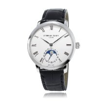Frederique Constant Manufacture Slimline Moonphase Staal 42mm Zilver
