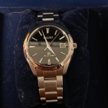 Seiko Grand Seiko Steel 40mm Black Arabic numerals United States of America, Pennsylvania, Philadelphia
