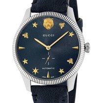 Gucci G-Timeless Ocel 40mm Modrá Bez čísel
