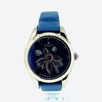 Perrelet Diamond Flower Or/Acier 39mm Bleu Sans chiffres