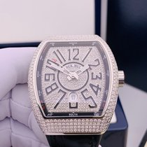 法兰克穆勒 钢 41mm 自动上弦 Custom Diamonds Vanguard V41 Automatic 全新 中国, Shanghai