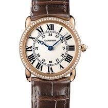 Cartier Ronde Louis Cartier Roségold 29mm Silber