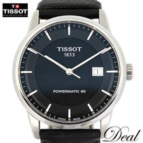 Tissot Luxury Automatic rabljen 41mm Crn Koza