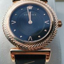 Versace Acier 35mm Quartz # PVERE008-P0018_RTU_TU_PNUL__ nouveau France, trelaze