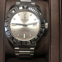 Tudor Hydronaut Steel 40mm Silver No numerals United States of America, Indiana, Hobart