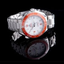 Omega Seamaster Planet Ocean Steel 43.5mm White United States of America, California, Burlingame
