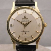 Omega Constellation Zlato/Zeljezo 34mm Bjel